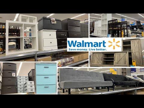 Walmart Furniture Storage Organizer & Home Decor | Shop With Me August 2019