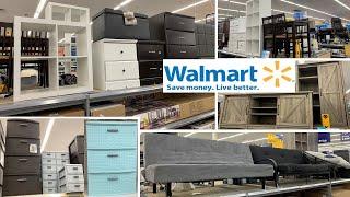 Walmart Furniture Storage Organizer & Home Decor   Shop With Me August 2019