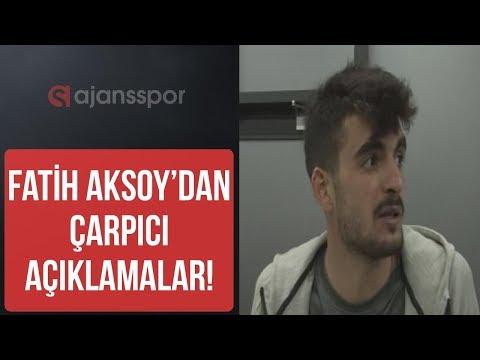 Beşiktaş'ın Sivasspor'da kiralık oynayan futbolcusu Fatih Aksoy, Beşiktaş taraftarına cevap verdi
