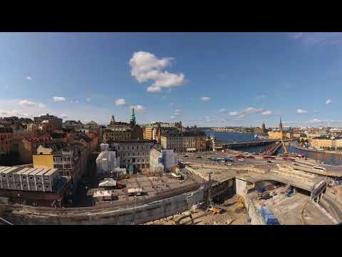 Beautiful summer in Stockholm -  Xiaomi Yi 4k Time Lapse - Verano Estocolmo Suecia