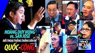 Ls Hoàng Duy Hùng vs. San Jose: Đối luận thẳng thắng vấn đề Quốc-Cộng