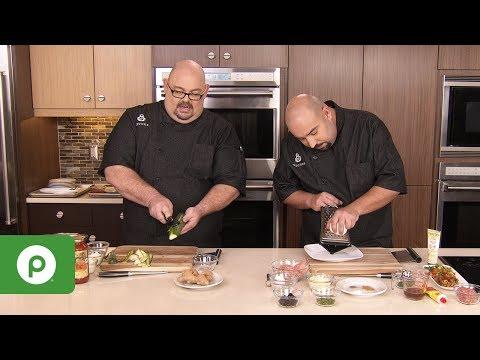 "Publix Aprons® Cooking School Online: ""Fill It, Stuff It, Roll It"""