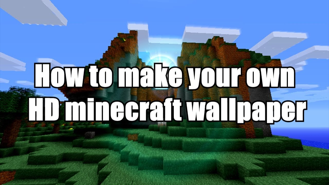 how to make an epic hd minecraft wallpaper with sony vegas