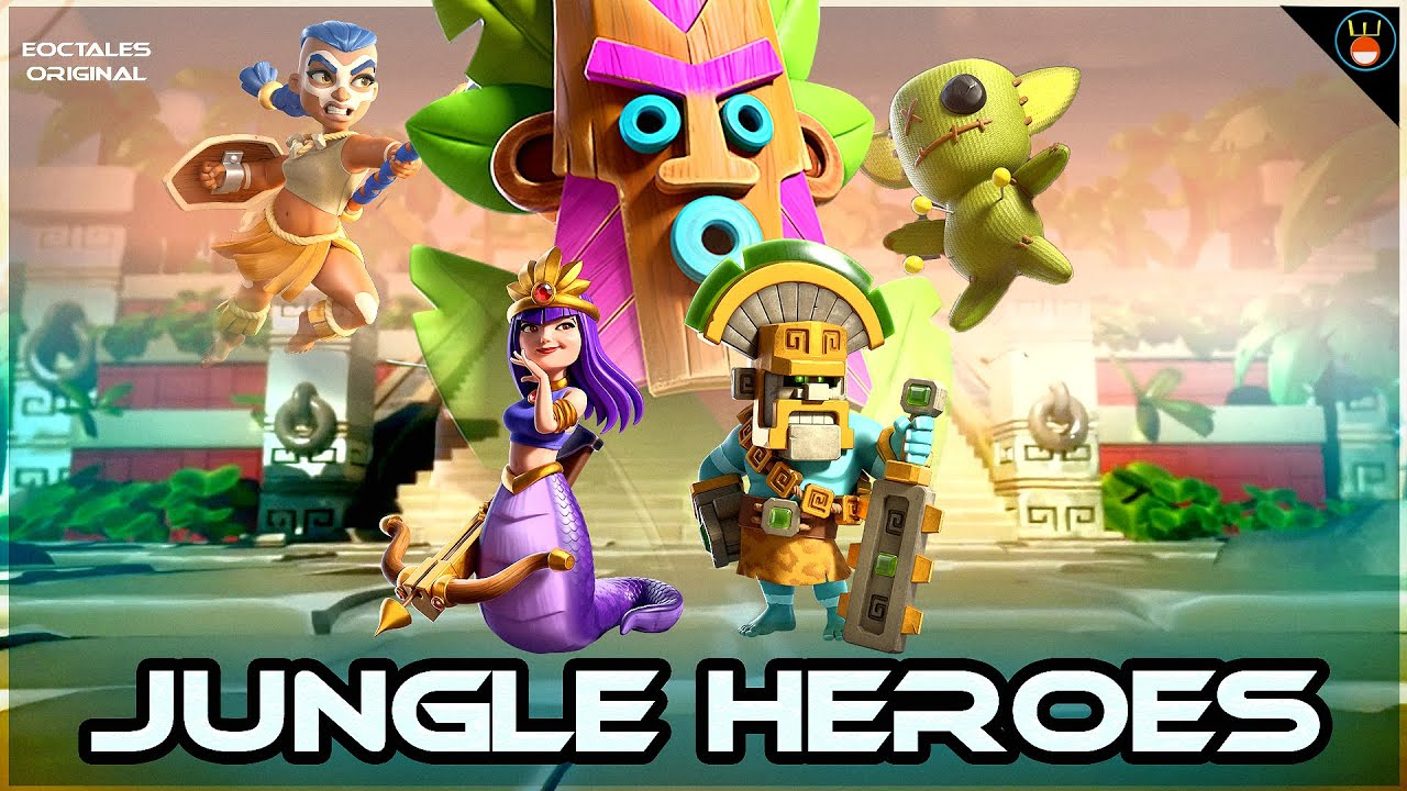 Jungle Heroes Full Story | A tale of EPIC JUNGLE !  Clash of Clans (Hindi ) #123
