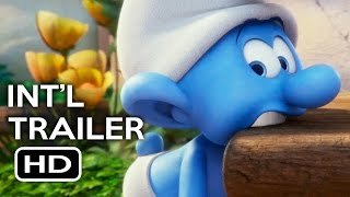 Smurfs: The Lost Village Official International Trailer #1 (2017) Animated Movie HD