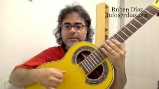Are you a beginner...? (Learning Paco de Lucia´s technique) Ruben Diaz flamenco online lessons