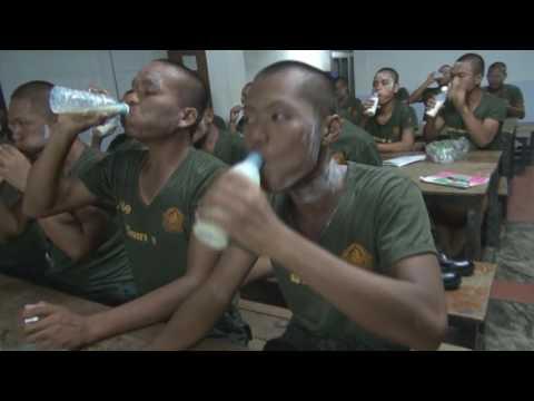 ทหารใหม่ รุ่น 591 สส ทหาร หน่วยฝึกทหารใหม่ พัน ส ฯ