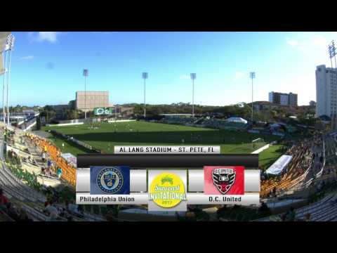 Philadelphia Union vs. D.C. United- February 25, 2017 - ROWDIES SUNCOAST INVITATIONAL