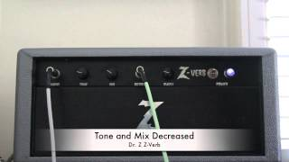 Dr. Z Z-Verb through a Fender Twin Reverb amp