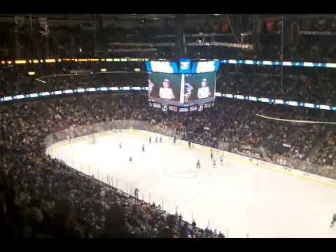 Tampa Bay Lightning vs Florida Panthers April 8th, 2011. Pavel Kubina scores power play goal.
