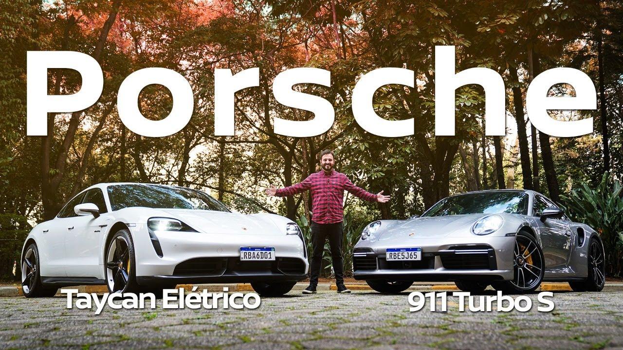 Porsche Taycan elétrico ou 911 Turbo? Aceleramos os dois supercarros da marca alemã de luxo
