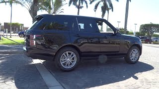 2018 Land Rover Range Rover Miami, Aventura, Fort Lauderdale, Broward, Miami Beach, FL NJA395703