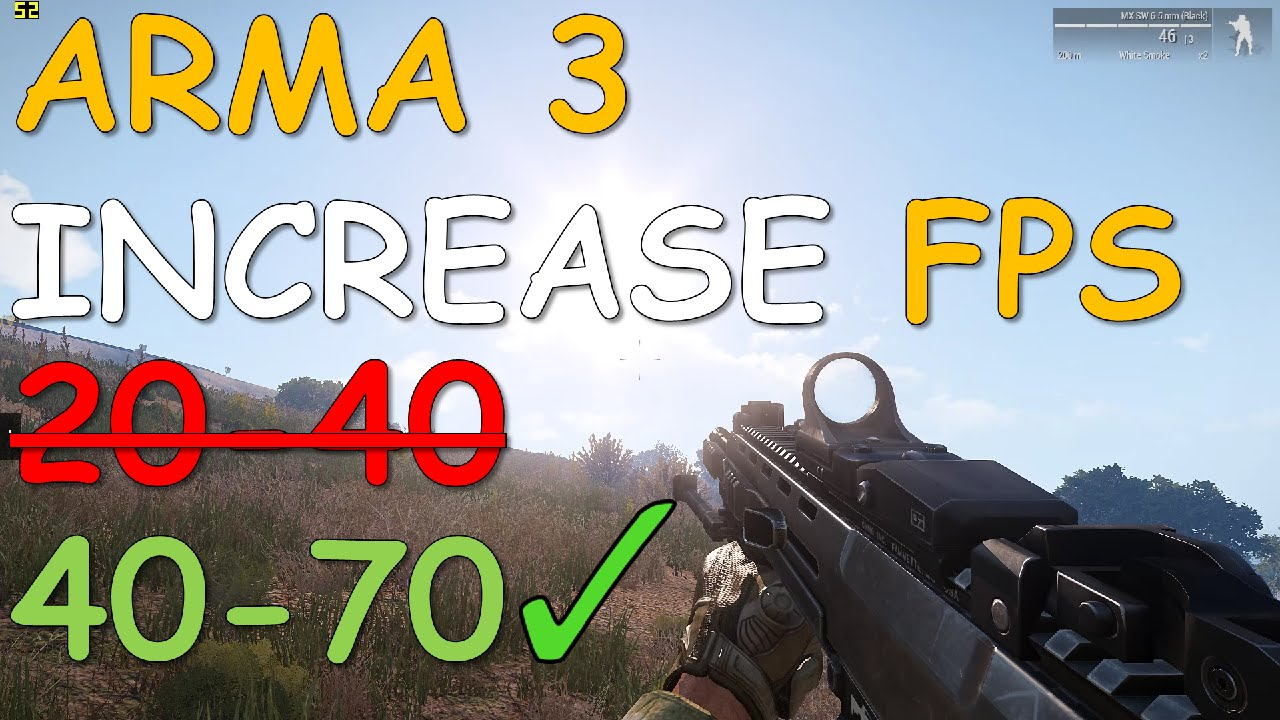 Low FPS - ARMA 3 - QUESTIONS & ANSWERS - Bohemia Interactive Forums