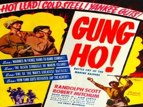 a report on movie gung ho Gung ho 1986 academic essay  the movie 'gung ho' was produced in 1986 at a time when the establishment of  your report is due no later than the time and.