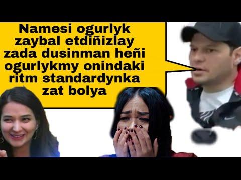 Mekan Atayew ogurlyk aydymlar barada.Amalia, Mahri Pirgulyyewa / It's TM