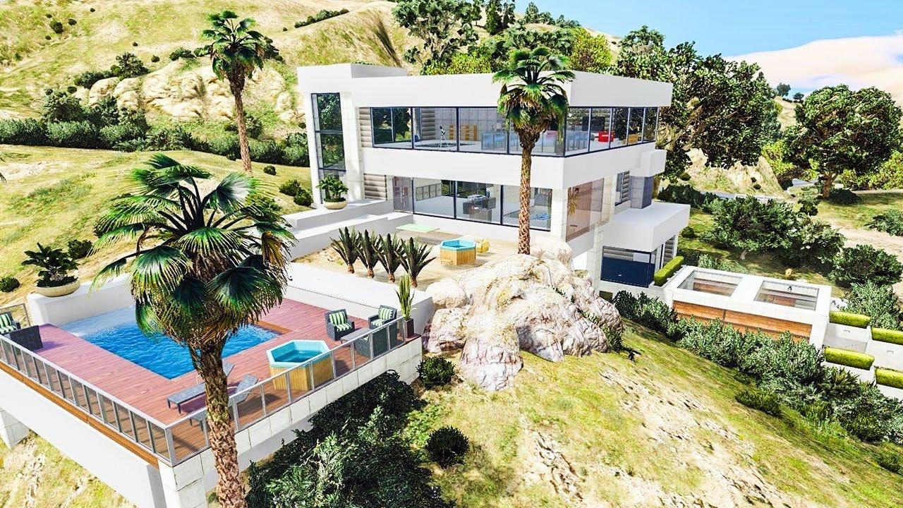 Une magnifique villa de milliardaire luxueuse ultra for Villa mirleft avec piscine