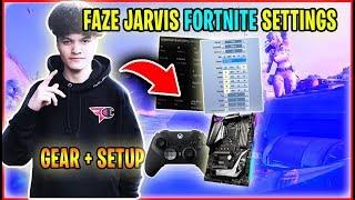Fortnite Chapter 2 : FaZe Jarvis Fortnite Settings,Gear,Setup u0026 keybinds | FaZe Jarvis New Settings
