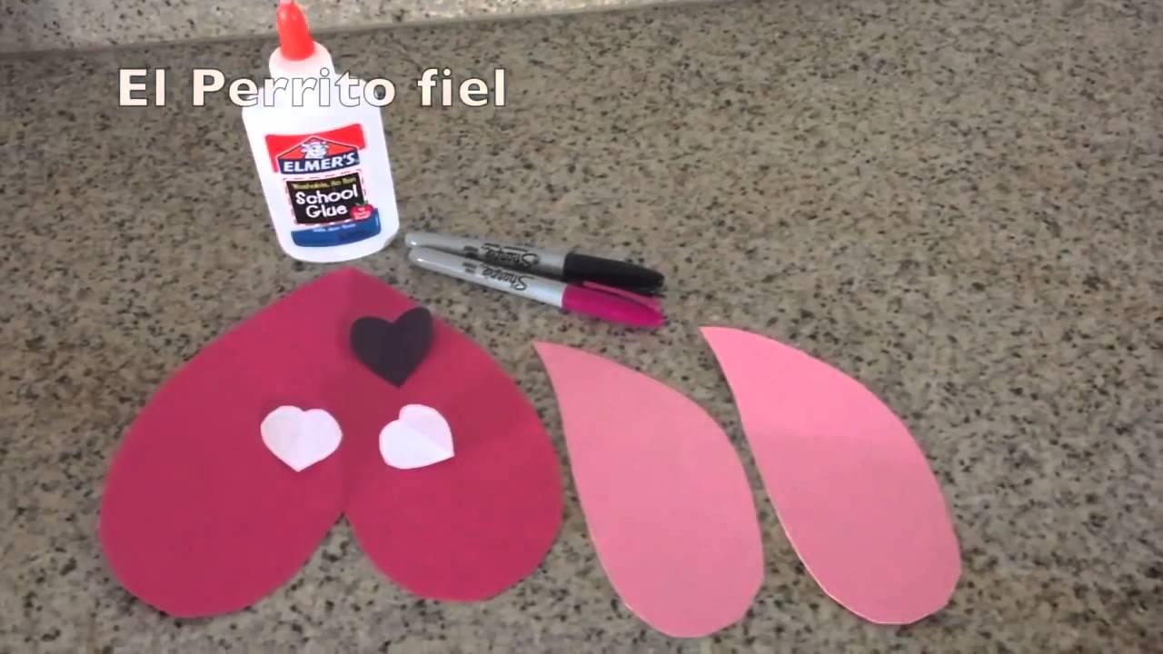 3 Manualidades De San Valentin sencillas para hacer con los niños ...