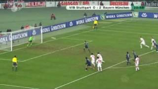 VFB Stuttgart - Bayern München DFB Pokal 27.01.2009