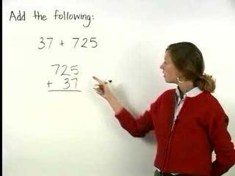 Addition - Adding Whole Numbers - MathHelp.com