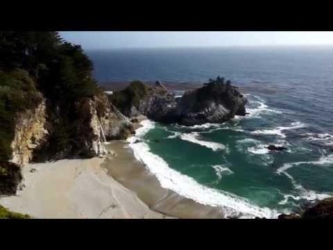 Kalifornien McWay Wasserfälle in Big Sur - Highway 1
