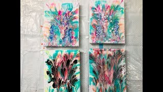 Dip Technique  with Acrylic Pour  / Two Ways on How to Do Dipping  by Mylene Ausdauer