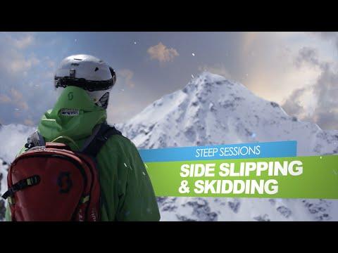 STEEP SESSIONS - Side Slipping + Skidding (Warren Smith Ski Academy)