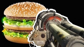 BO3 MCDONALDS ZOMBIES BIG MAC EASTER EGG! Call of Duty Black Ops 3 Gameplay