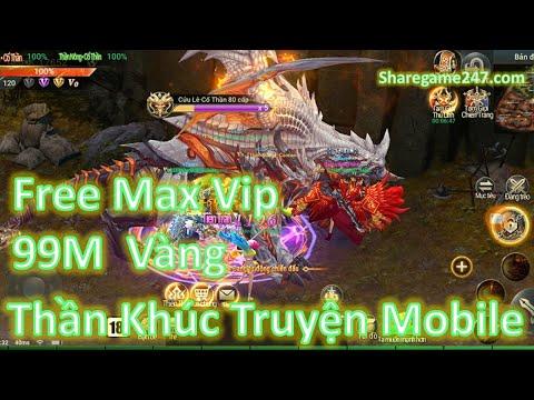 Game Lậu Mobile Thần Khúc Truyện Mobile Việt Hóa Free Max Vip + Vô Số Quà Vip + Code 99M Vàng