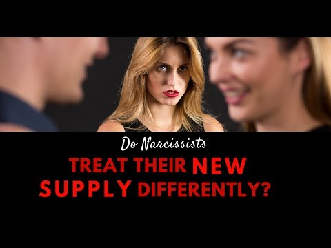 Do Narcissists Treat Their New Supply Differently?