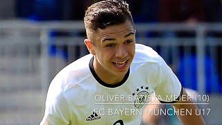 Oliver Batista Meier (FC Bayern München U17) – Sublime Skills, Passes, Goals&Assists -(2017)