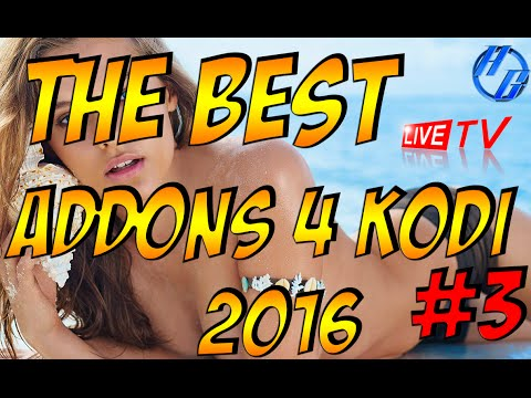 THE BEST KODI ADDONS 2016 #3/LIVE TV/HBO/SHOWTIME