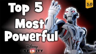 Top 5 Most Powerful Characters in Disney Infinity 3.0! Mp3