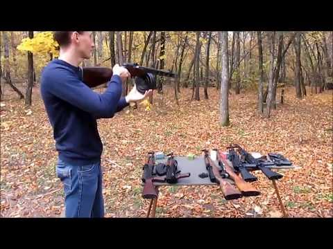 Охолощенное оружие видео обзор