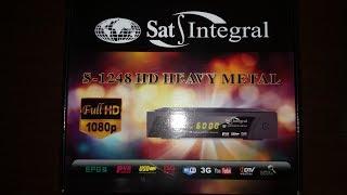 Налаштування тюнера Sat-Integral S-1248 HD HEAVY METAL AC-3+