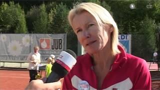 Wimbledonská vítězka Jana Novotná ve Zlíně