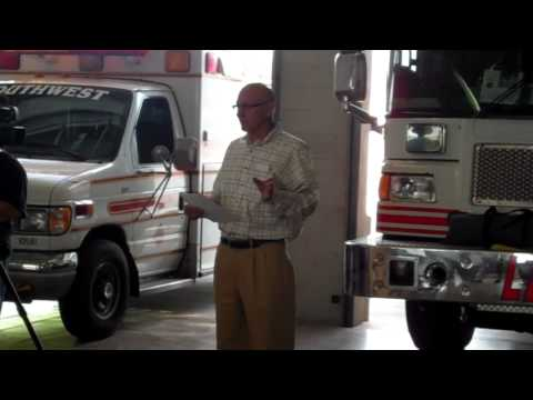 Ed Barrett thanks Fire and EMS crews, by-stander a...