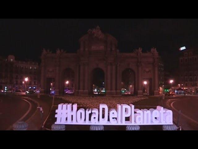 Así se vivió en España la Hora del Planeta