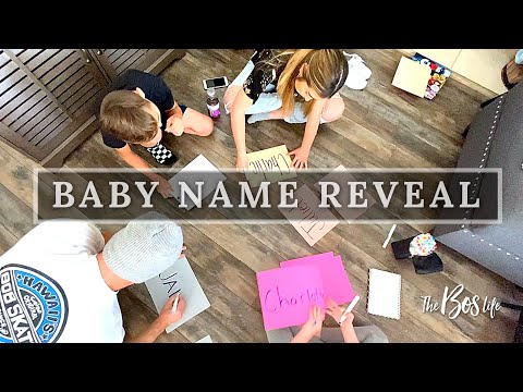 OUR BABY NAME REVEAL -