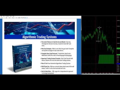 Algorithmic Trading Systems E-mini S&P, Crude Oil, and Euro trades today