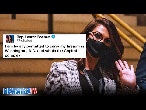 Boebert responds after standoff with Capitol Police
