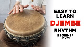 Easy to Learn Djembe/Hand Dŗum Rhythm: Rock Beat
