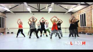 'Thrift Shop' Macklemore choreography by Jasmine Meakin (Mega Jam) Mirrored