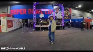 Behind the Scenes at Radio Row (Super Bowl LIII)