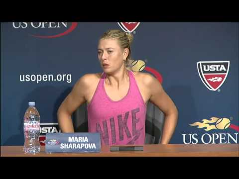 2012 US Open Press Conferences: Maria Sharapova (1st Round)
