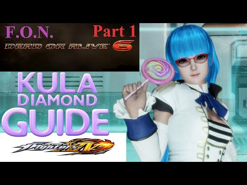 Dead or Alive 6: KULA DIAMOND GUIDE Tutorial w/Force of Nature