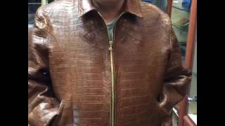 Tailor made alligator jacket