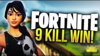 9 Kills Solo Win - Fortnite Battle Royale Gameplay - Alsky