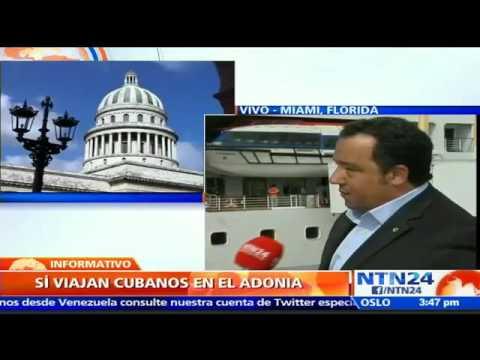 Zarpa primer crucero de EE.UU. a Cuba luego de cinco décadas con ciudadanos cubanos