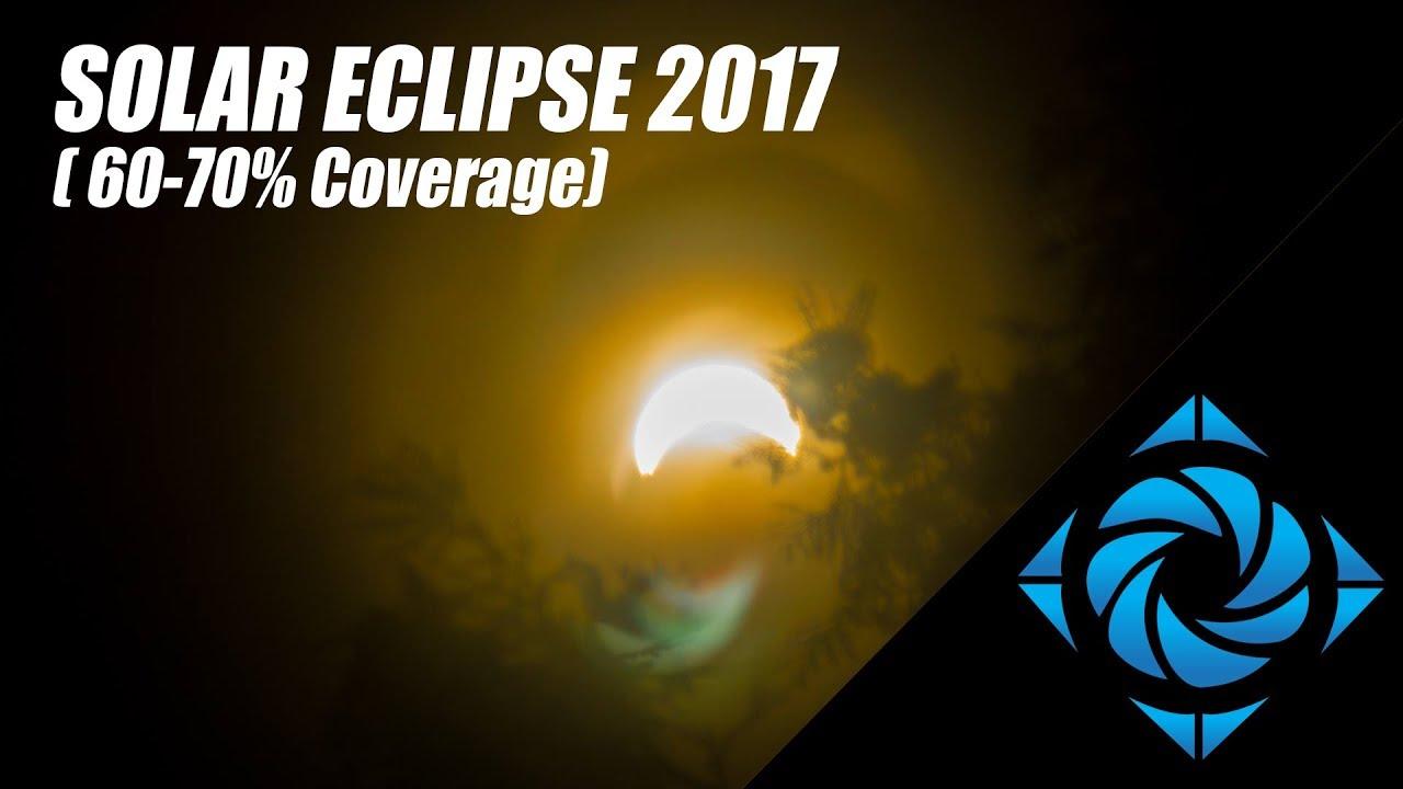 Solar Eclipse 2017 - Backyard Observation from the Niagara Region